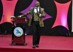 Flamboyant Pastor Spotted With His N80Million Luxury Hummer Limousine In Lagos (Photos)